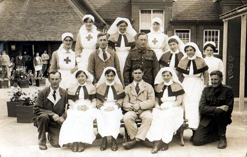 WW1 Army Nurses Photo ID required (World War One