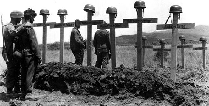 German graves Crete