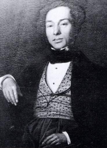 Joseph Whitaker in 1841