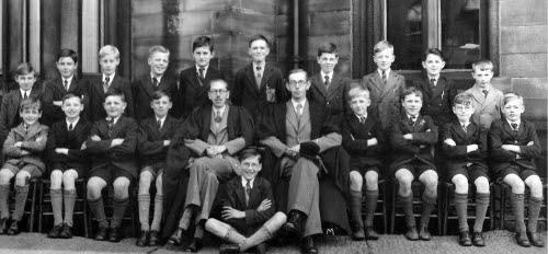 Ossett Grammar School Class 2B in 1940